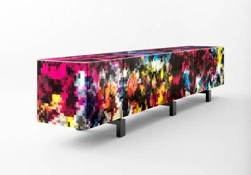 Credenza moderna / in legno massiccio / in vetro temperato / in MDF DREAMS by Cristian Zuzunaga BD Barcelona Design