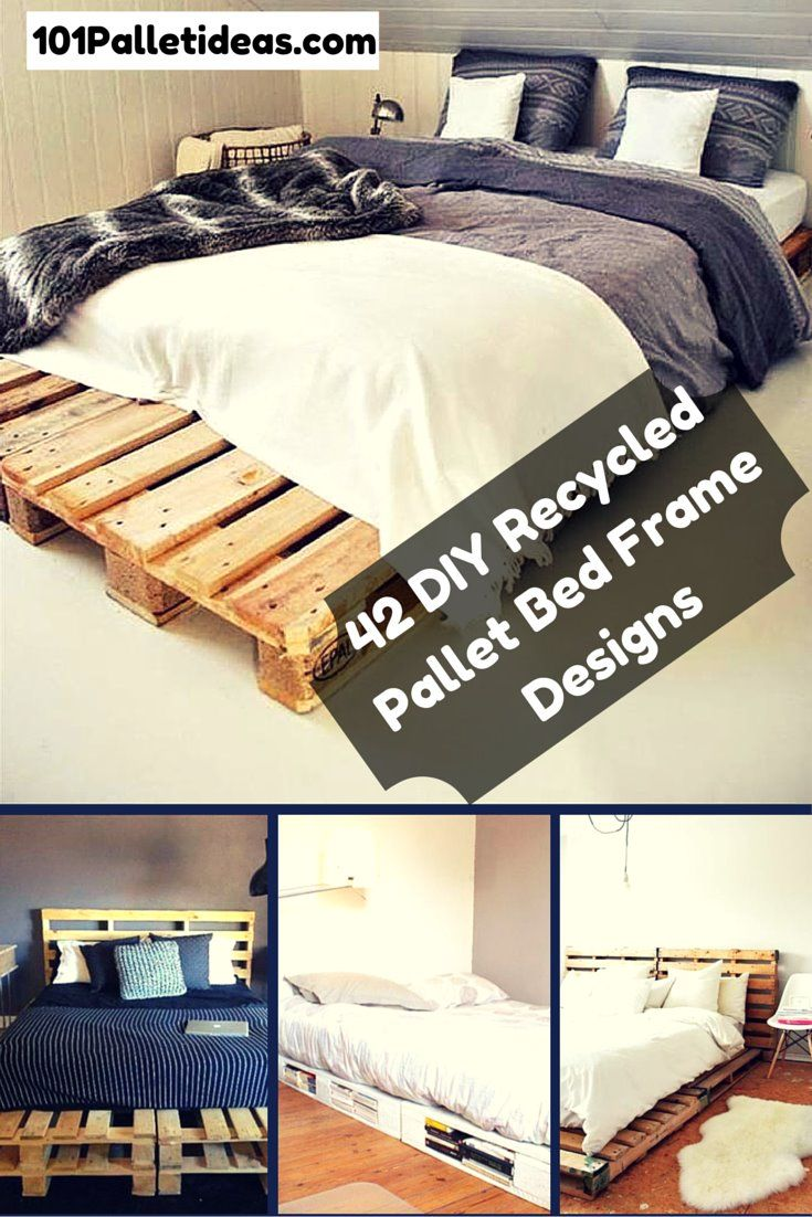 42 #Beds Made Out of #Pallets | DIY and Crafts