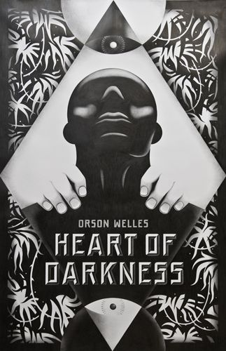 Heart of Darkness - La BocaOrsonwell, Book Covers Design, Mouth, Illustration, Heart Of Dark, Posters Design, Orson Welles, Covers Art, Banners