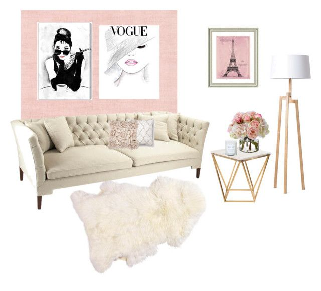 """""""Leaving room"""" by katyvalentine on Polyvore featuring interior, interiors, interior design, home, home decor, interior decorating, Nuevo, Diane James, Oliver Gal Artist Co. and Vintage Print Gallery"""