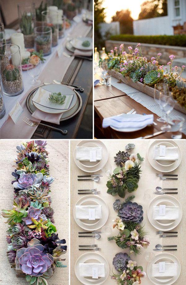Adorna tu boda con suculentas - Wedsiting Blog, tu web de boda gratis. Ideas para bodas