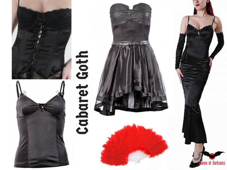 Gothic Style: Gothabilly vs. Cabaret - Queen of Darkness