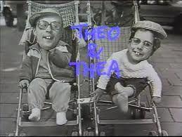 Hallo, wij zijn Theo en Thea, is dat niet leuk, hiephiephoera.