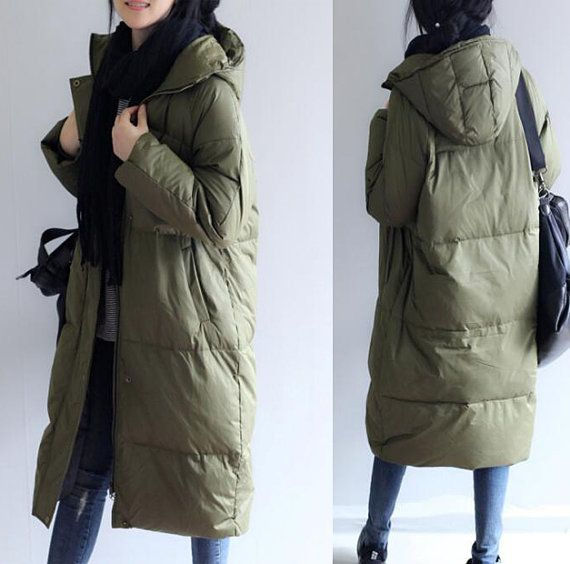 Women Winter Down Coats Winter Duck Down Jacket от liferollpaint