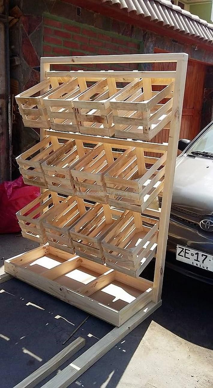 1000 Ideas About Pallet Crates On Pinterest Diy Pallet