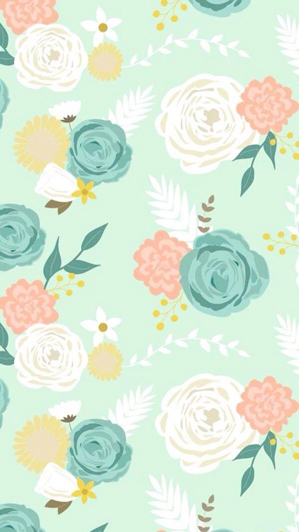 Cute Floral Laptop Wallpapers Iphone 6s Fondos Florales Fondos De Flores Y Fondos