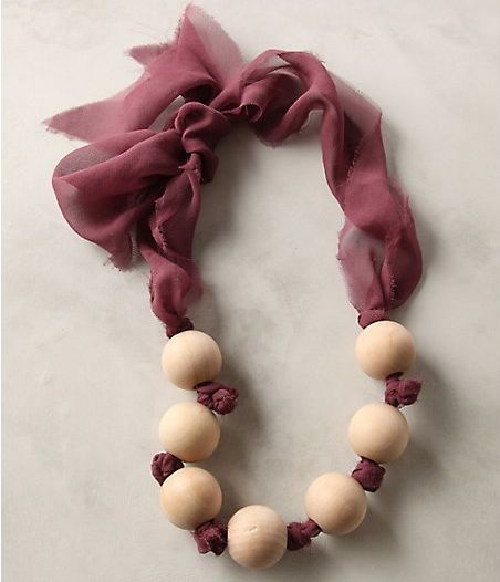 anthropologie diy necklace
