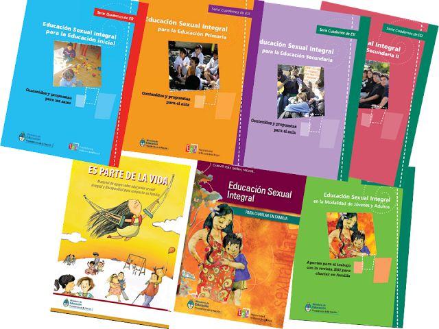Educación Primaria. Cuadernillos de ESI