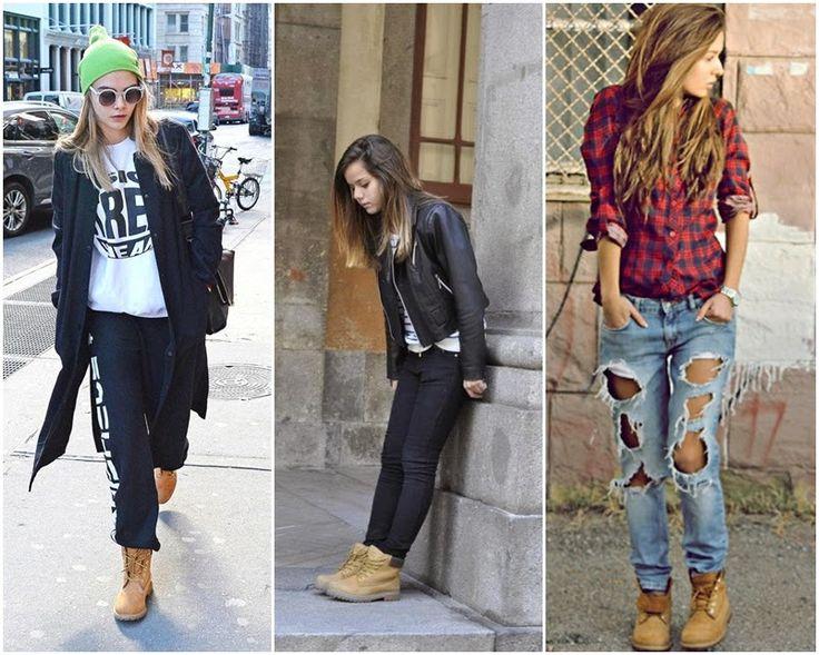 Botas timberland para mujer outfit - Burras para ropa ...