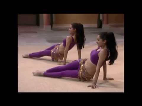 Bellydancing for Beginners: Arms and Abs with Neena and Veena (This 28:37 workout started off so simple I was almost bored, but man, when these two started really working out it got real very quickly. By the time the floor ab work started, I had to take a break. I'm sure I'll master the floor work without taking breaks in between but for now...whew!)