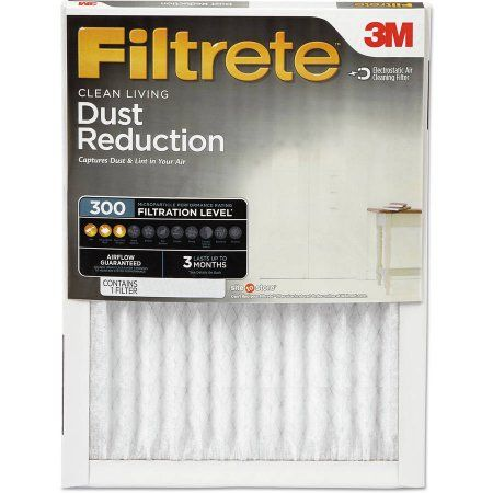 Filtrete 300 Dust Reduction Air Filter, Multiple Sizes , 4-Pack