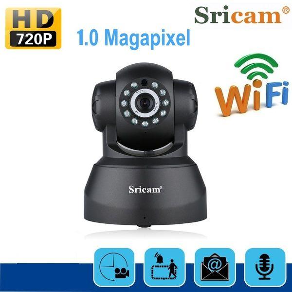 Sricam Outdoor PTZ 720P Wireless Wifi IP Dome Camera CCTV Security IR Webcam LOT
