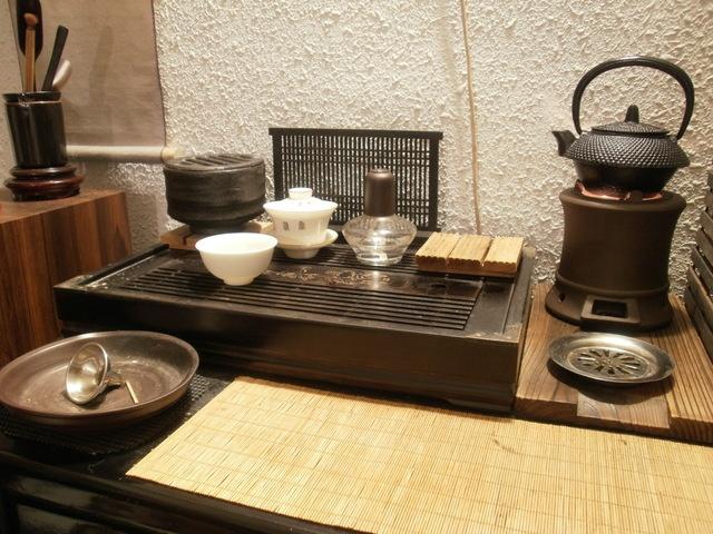 calming tea corner/set-up by TC member Luthier