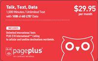 Prepaid Cell Phone Plans | $29.95 | Page Plus Cellular