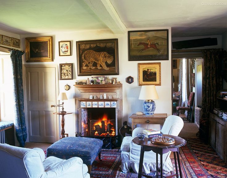 770 best Country cottage living-room images on Pinterest ...