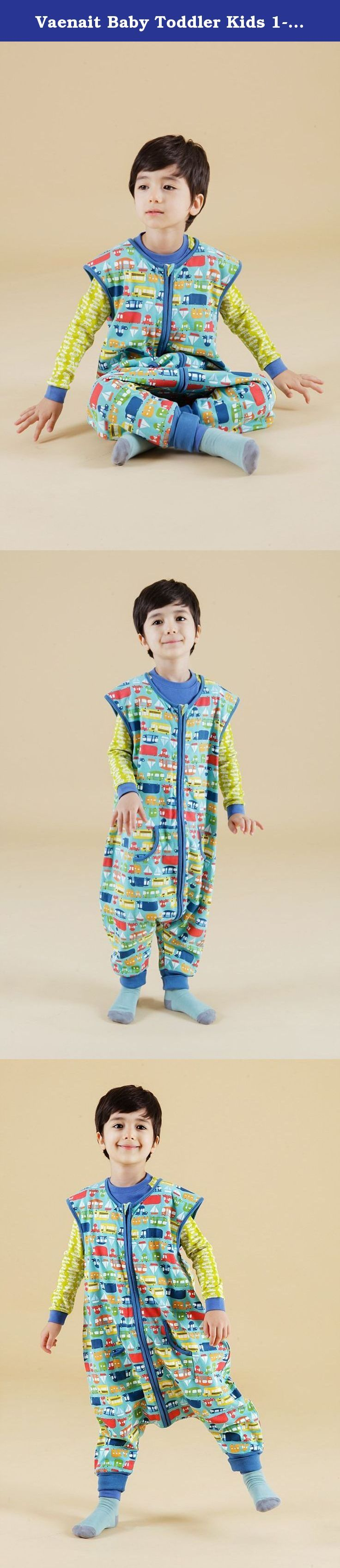 Vaenait Baby Toddler Kids 1-7Y Sleep and Play Blanket Sleepsack Sleep Travel S. The Vaenait Baby Sleepsack replaces loose blankets in the crib, with us unique foot openings. In addition to helping your kids sleep safer and better, too. It is a warm cuddly blanket they cannot kick off, ensuring little ones sleep soundly throughout the night. This wearable blanket becomes the trusted bedtime roution,providing the secure feeling your kids need to fall asleep fast . It is good for 1 to 7…