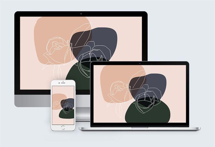 Free Magnolia Desktop Background Graphic | Acqua Design Studio