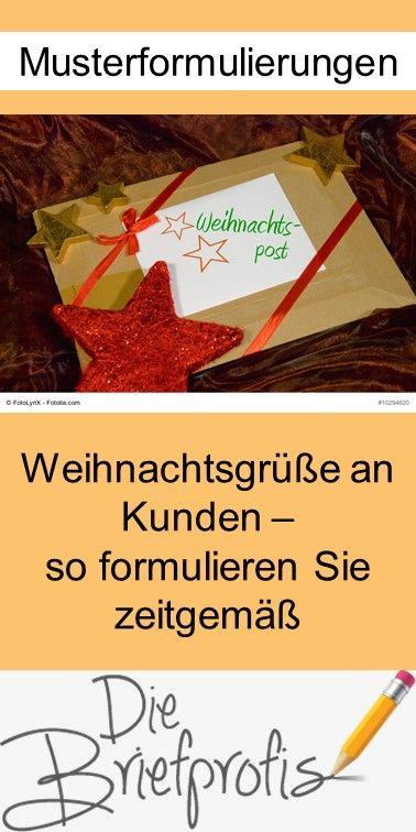 Weihnachtsgrüße an Kunden zeitgemäß formulieren