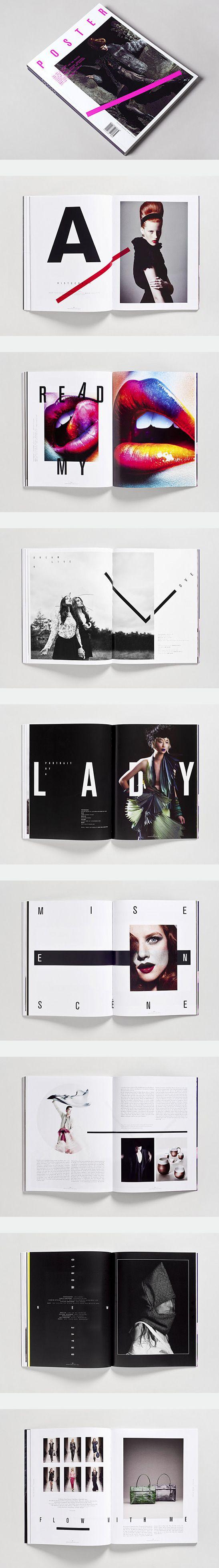 #Diseño #editorial porque todavía nos gusta pasar páginas de revistas o…                                                                                                                                                                                 Más