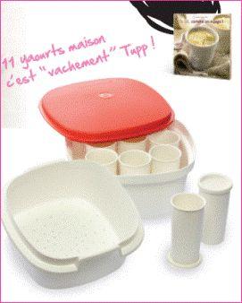 Ricette per Yogurt Maker Tupperware - Tupperware con Celine