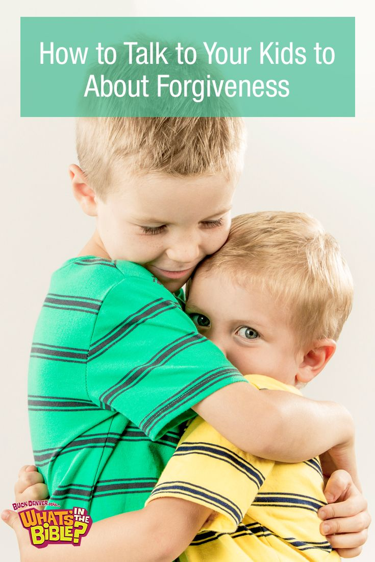 Teach Your Four Year Old To Read: 3 Bible Stories To Teach Your Kids About What Forgiveness