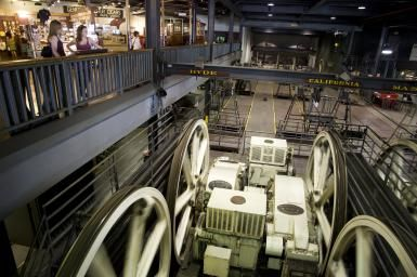 Inside the Cable Car Museum. - Sabrina Dalbesio / Getty Images