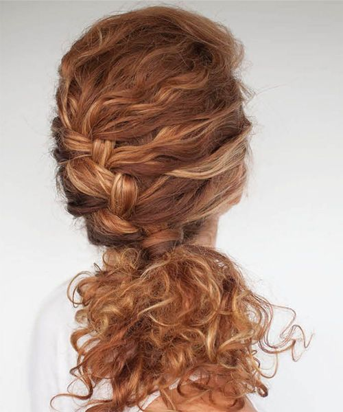Superb 1000 Ideas About Curly Braided Hairstyles On Pinterest Short Hairstyles Gunalazisus