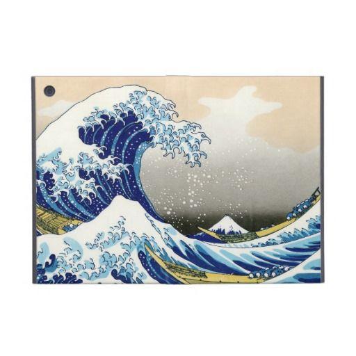 The big wave off Kanagawa Katsushika Hokusai Case For iPad Mini