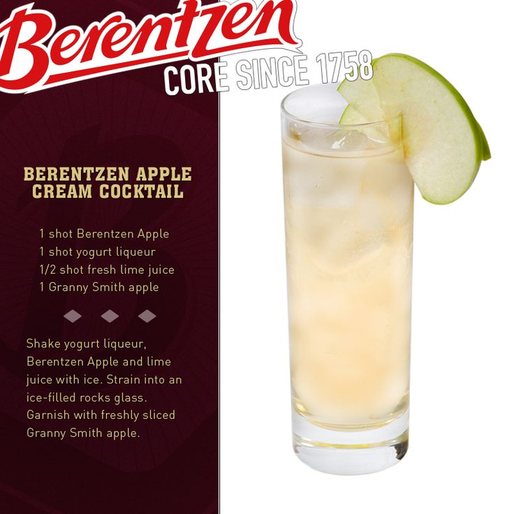 1000 images about berentzen apple liqueur on pinterest for Cocktail 9 mac