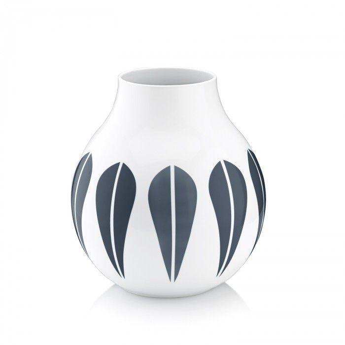 Arne Clausen Vase 24 cm Mørk blå 24 cm