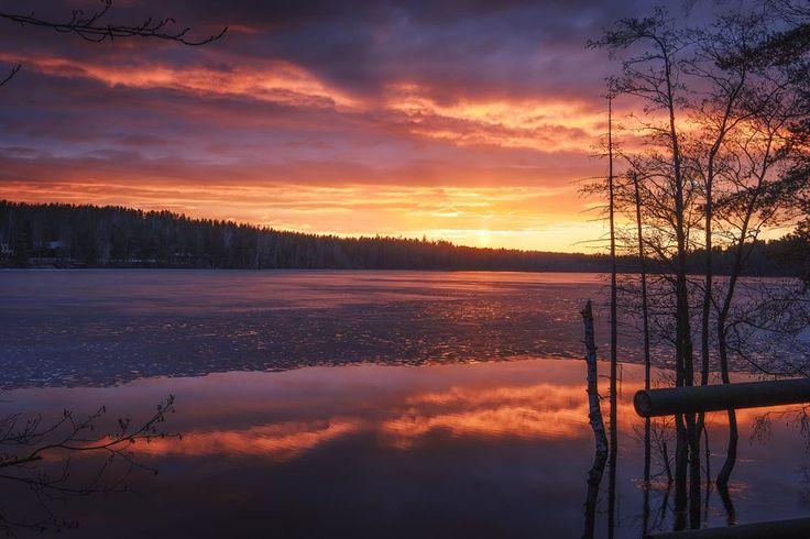 Burning Reflections by Aleksandr Ivanov on 500px