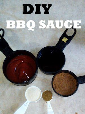 Ingredients:  1/2 c. ketchup,   1/4 c. soy sauce,   1/4 c brown sugar (packed),   1 tsp cumin,   1 tbsp garlic powder/onion powder, mixed,  Salt and pepper to taste. Mix it.   Braise, Broil, Baste, Bake, or Grill with it. This one is best for chicken and pork; if you are making a bbq sauce for beef, I'd recommend taking out the cumin and putting in a tsp of crushed garlic instead.