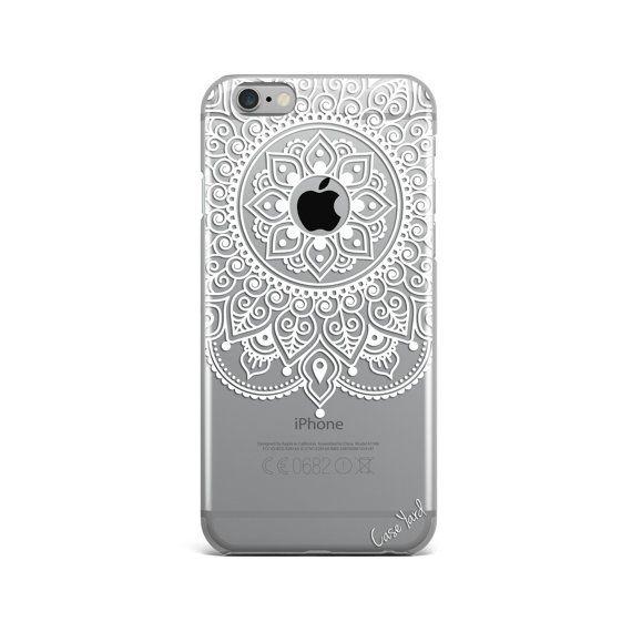 Apple Mandala clear iphone case  clear iPhone 7 case by CaseYard