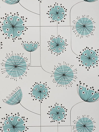 Buy MissPrint Dandelion Mobile Wallpaper, Blue MISP1027 online at JohnLewis.com - John Lewis