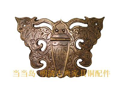 Kast knoppen handles deurknop koperen antieke furniturpromotion ladehandvat keyhole fittings chinese vintage vlinder modellen in  Baby tonen:  Model: dh-138Grootte: 9,5* 6.5cmMateriaal: messing Kleur referentie grafiek:Kopers van handgrepen en knoppen op AliExpress.com | Alibaba Groep