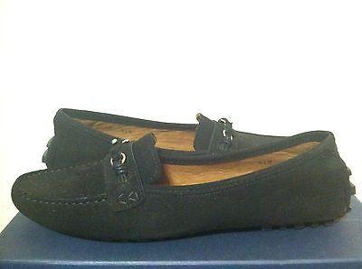 Bernardo Fae Black Suede Upper Women's Slip-on Flats / Driving shoes 8.5 M