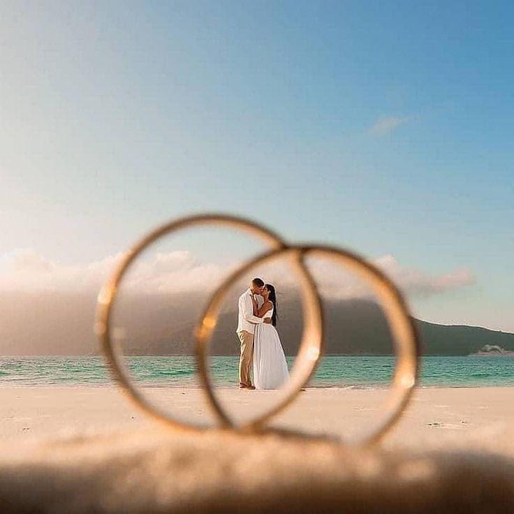 Una idea tan genial para capturar el amor infinito. repost diario de boda repost …