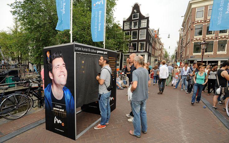 De #AVRO Photo booth valt op! - Gemeen Goed campagne