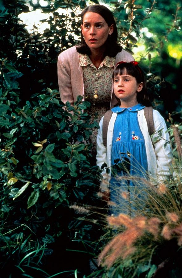I'm really inspired by Miss Honey's style right now! -(from Matilda)