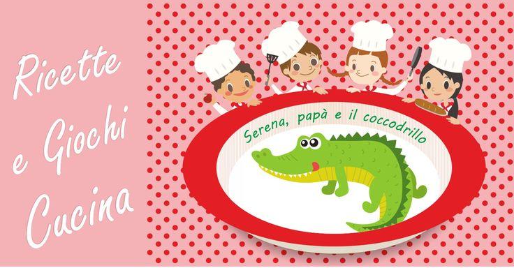 La cucina giocattolo e il coccodrillo. I bambini si chiedono il coccodrillo come fa, ma il coccodrillo di che sa? Vedi la ricetta coccodrillo