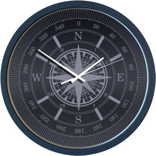 Ceas Busola  Ceas de perete al carei cadran este in forma de busola. Daca pozitionati acest ceas pe un perete orientat spre nord, atunci ceasul va indeplini mai multe functii practice, insa daca nu stiti deja care e nordul, va trebui sa va orientati dupa soare, pentru ca acest ceas nu este o busola adevarata. :)