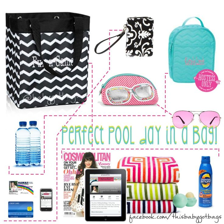 Thirty One July special, essential storage tote, Pool Time! - Baby Got Bags