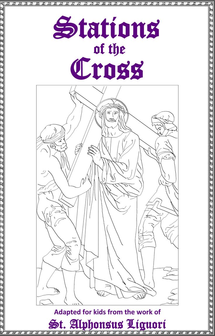 stations of the cross excellent free printable booklet from st john the