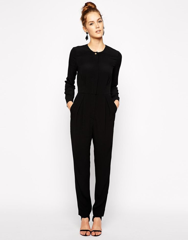 Find long sleeve black jumpsuits for women at ShopStyle. Shop the latest collection of long sleeve black jumpsuits for women from the most popular.