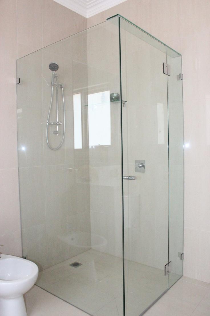 Frameless custom or standard design shower screens gets the minimalist choice award!