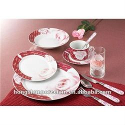 20pcs Valentine Porcelain Dinnerware Sets/chinaware Sets - Buy Valentine Porcelain Dinnerware Sets/chinaware Sets,Porcelain Dinner Set,Ceram...