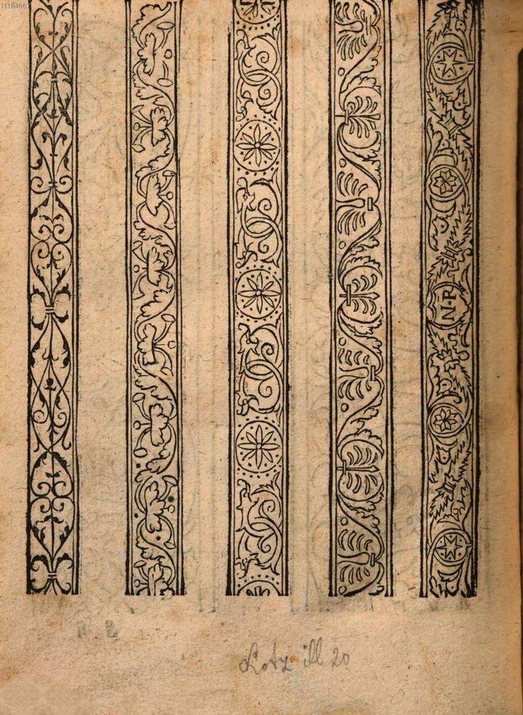 modelbuch nehwens, stickens, vnd wirckens (1555
