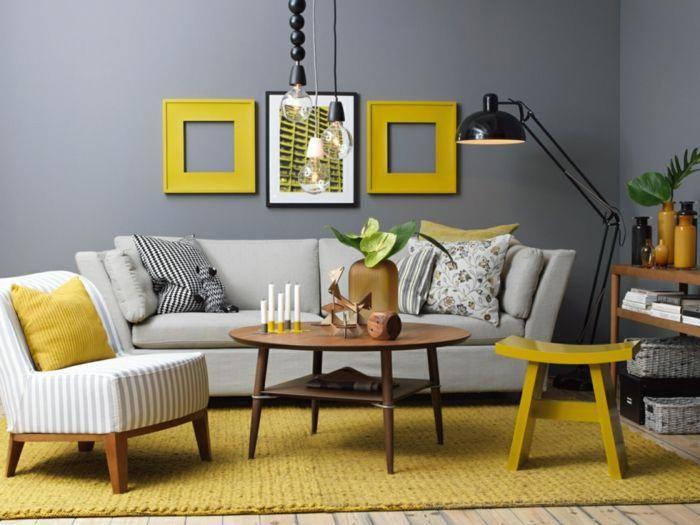 Sofa Gris Oscuro Salon