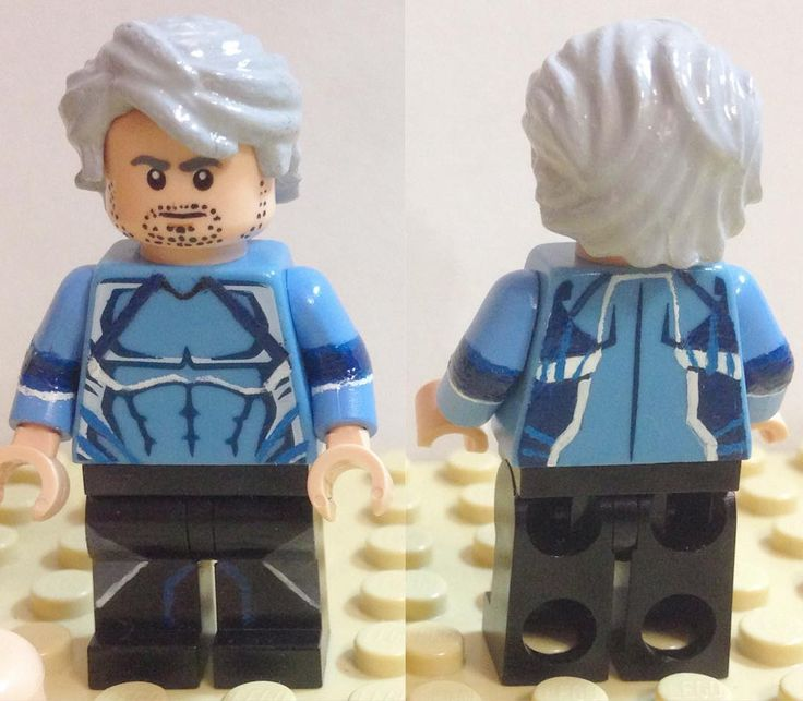 #Pietro Maximoff (#Quicksilver) from Age of Ultron #Avengers #Marvel #Lego