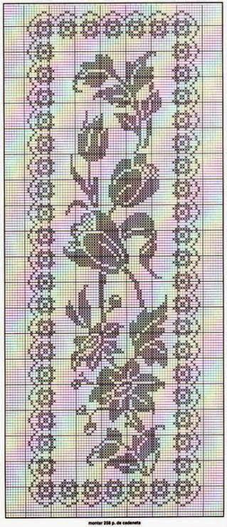 Bom dia!!!   Hoje trago vários gráficos lindos para crochê filé e espero que gostem!!!     Crochê filé: blocos de pontos altos interca...